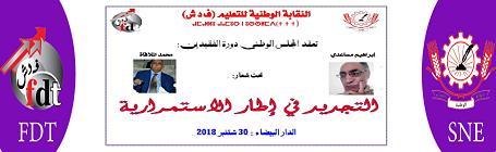 النقابة الوطنية للتعليم -ف د ش- SNE/FDT